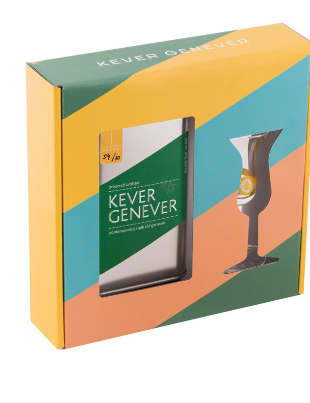 Kever giftpack with Origineel & tulip glass