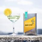 John Lemon canned cocktail serve