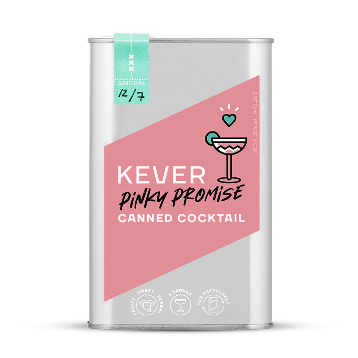 Kever Pinky Promise cocktail