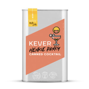Kever Henkie Panky canned cocktail packshot